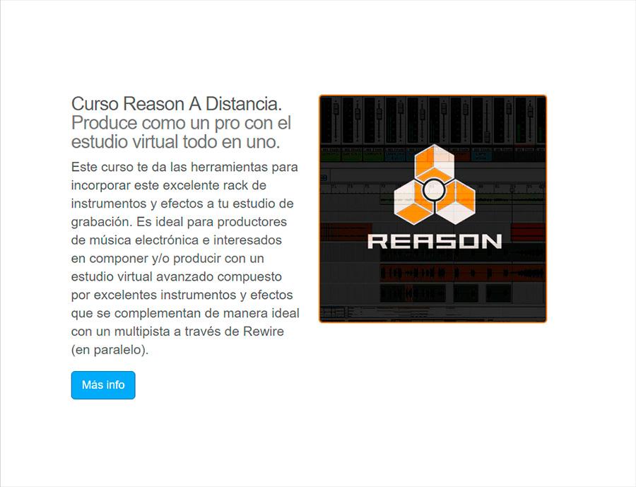 Curso Reason A Distancia